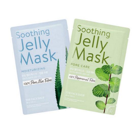 Mặt Nạ Làm Mềm Mịn Và Giữ Ẩm Da Mặt The Face Shop Soothing Jelly Mask