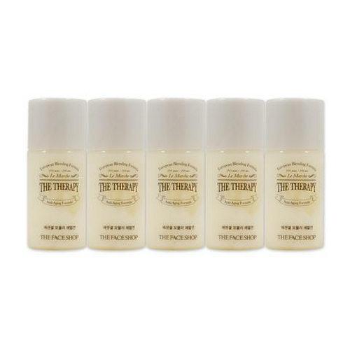 Combo 10 Sữa Dưỡng Chống Lão Hóa Da The Face Shop The Therapy Essential Formula Emulsion 5ml – Dùng thử