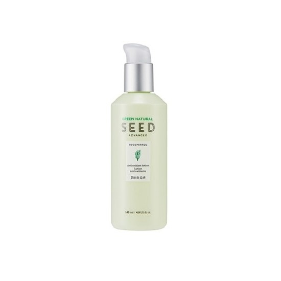 Sữa Dưỡng Cung Cấp Ẩm The Face Shop Green Natural Seed Advanced Tocoperrol Antiloxidant Lotion 145ml