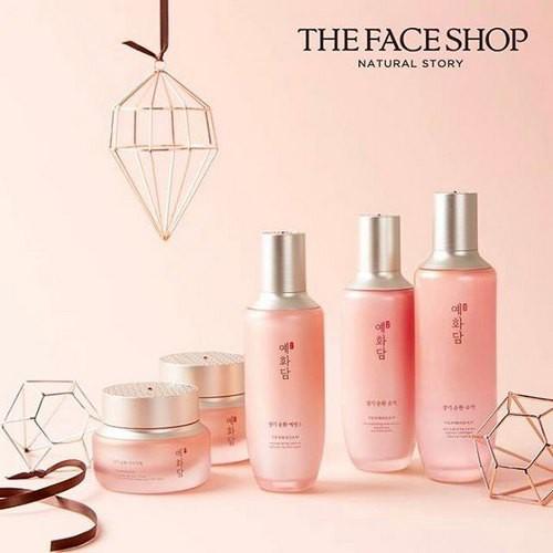 Combo 10 Sữa Dưỡng Sáng Mịn Da The Face Shop Yehwadam Heaven Grade Ginseng Regenerating Emulsion 5ml - Dùng Thử