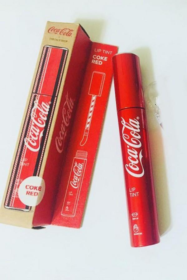 Son Tint The Face Shop x Coca Cola Lip TintMềm Mịn Môi