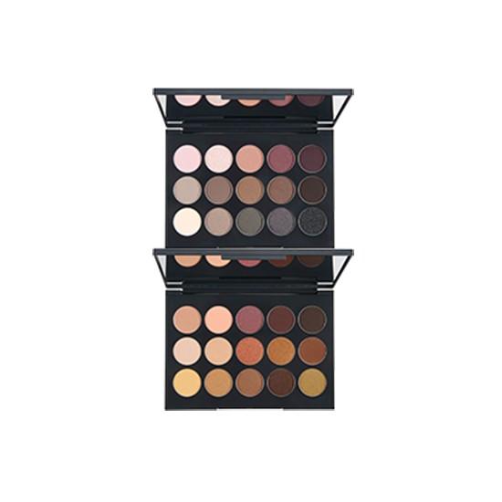 Bảng Phấn Mắt 15 Màu Siêu Bền Mịn The Face Shop Color Contour Eyes 22g