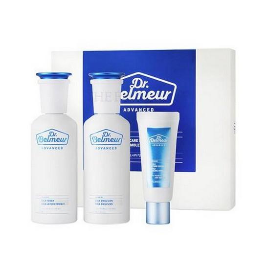 Bộ Dưỡng Chăm Sóc Da Nâng Cao The Face Shop Dr Belmeur Advanced Cica Skincare Speacial Set