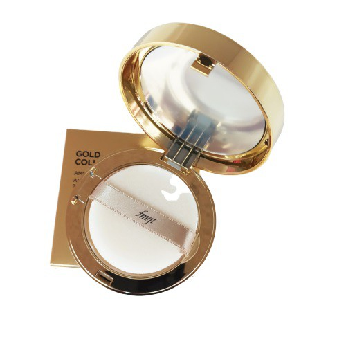 Phấn Phủ Nén Cao Cấp Làm Sáng Da Và Chống Lão Hoá The Face Shop Gold Collagen Ampoule Two-Way Pact SPF30/PA++ 9.5g