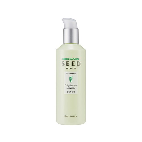 Nước Hoa Hồng Chống Lão Hóa Da The Face Shop Green Natural Seed Advanced Antioxidant Toner 160ml