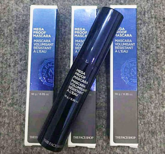 Mascara Siêu Lâu Trôi The Face Shop Mega Proof Mascara