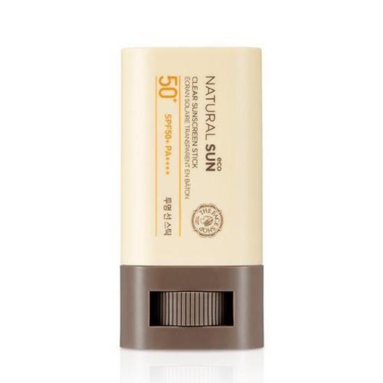 Kem Chống Nắng Dạng Thỏi Chiết Xuất Mầm Hướng Dương The Face Shop Natural Sun Eco Clear Sunscreen Stick SPF50+ PA++++ 20g