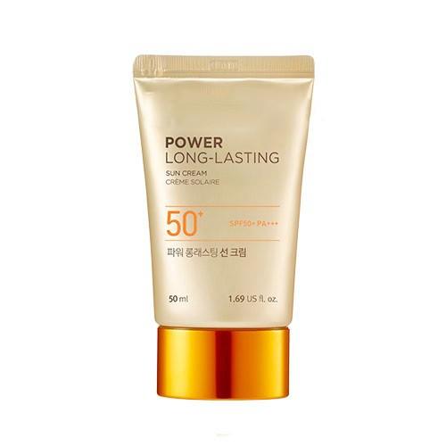 Kem Chống Nắng Lâu Trôi The Face Shop Natural Sun Eco Power Long Lasting Sun Cream SPF50+/PA+++ 50ml