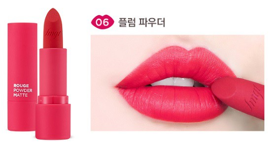 Son Thỏi Siêu Lì The Face Shop Rouge Powder Matte