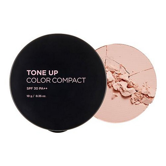 Phấn Nền Nâng Tone Da The Face Shop Tone Up Color Compact SPF30 PA++