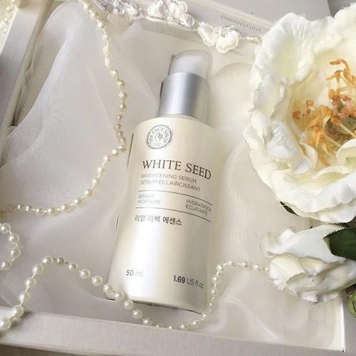 Bộ Dưỡng Trắng Da Và Trị Thâm Nám The Face Shop White Seed Brightening Set (4 Sản Phẩm)