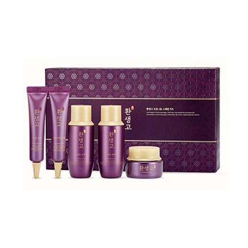 Bộ Dùng Thử Dưỡng Da Cao Cấp The Face Shop Yehwadam Hwansaenggo Ultimate Rejuvenating Skincare Kit - Sample