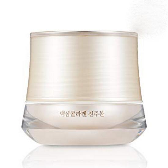Kem Dưỡng Trắng Da Chiết Xuất Từ Nhân Sâm Và Ngọc Trai The Face Shop Yehwadam White Ginseng Collagen Pearl Capsule Cream 50g