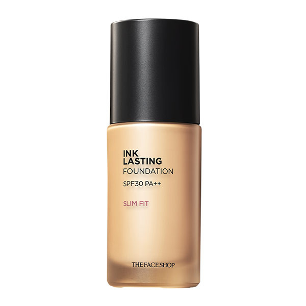 [HOT] Kem Nền Lâu Trôi Siêu Mịn The Face Shop Ink Lasting Foundation Slim Fit SPF30 PA++