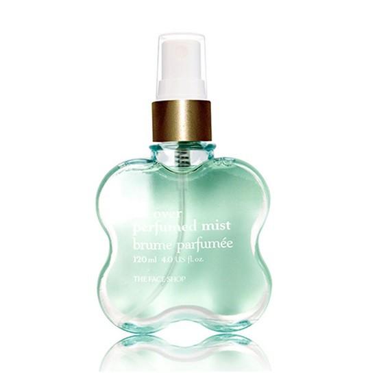 Xịt Khử Mùi Cơ Thể The Face Shop All Over Perfumed Mist 120ml (#02 Baby Musk - Xạ Hương)