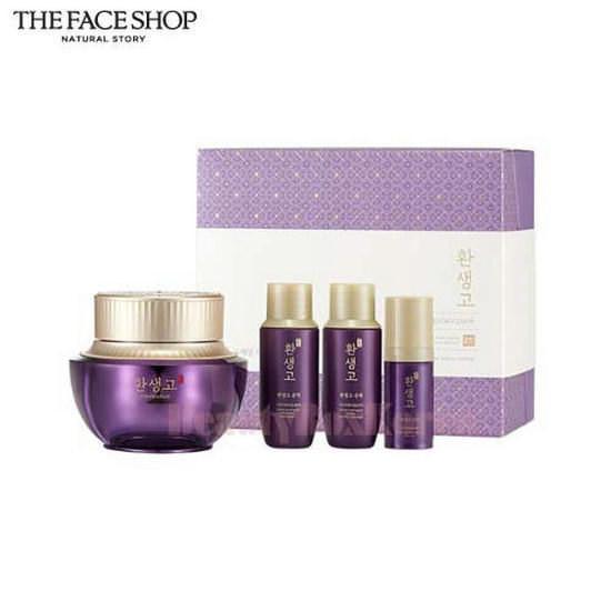 Bộ Sản Phẩm Dưỡng Da Chống Lão Hóa The Face Shop Yehwadam Hwansaenggo Cream Gift Set