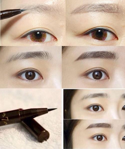 Bút Xăm Chân Mày TONYMOLY 7 Days Tattoo Eyebrow (Full Màu)