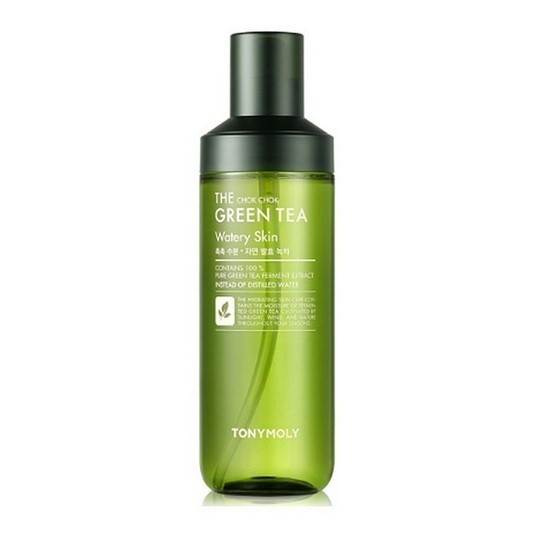 Nước Cân Bằng Làm Dịu Da Tonymoly The Chok Chok Green Tea Watery Skin