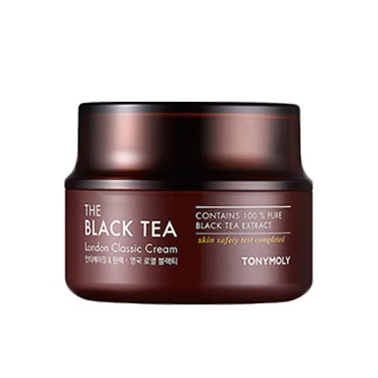 Kem Dưỡng Ẩm Và Ngăn Chặn Quá Trình Oxy Hóa Da Chiết Xuất Trà Đen Tonymoly The Black Tea London Classic Cream 50ml