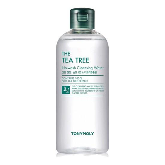 Nước Tẩy Trang Chiết Xuất Lá Tràm TràTonymoly The Tea Tree No-Wash Cleansing Water 300ml