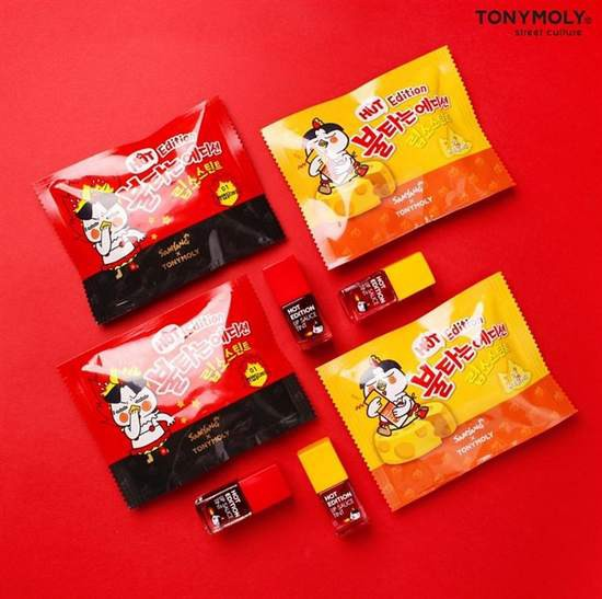 [HOT] Son Tint Mì Cay TonyMoly x Samyang Lip Sauce Tint 9g [Hot Edition]