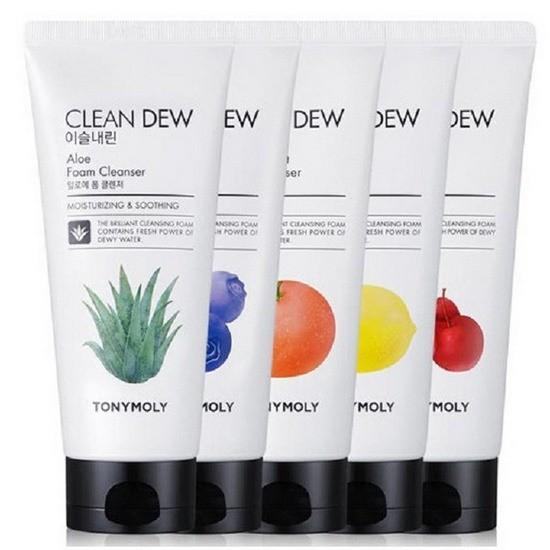 Sửa Rửa Mặt Dưỡng Da TonyMoly Clean Dew Foam Cleanser 180ml
