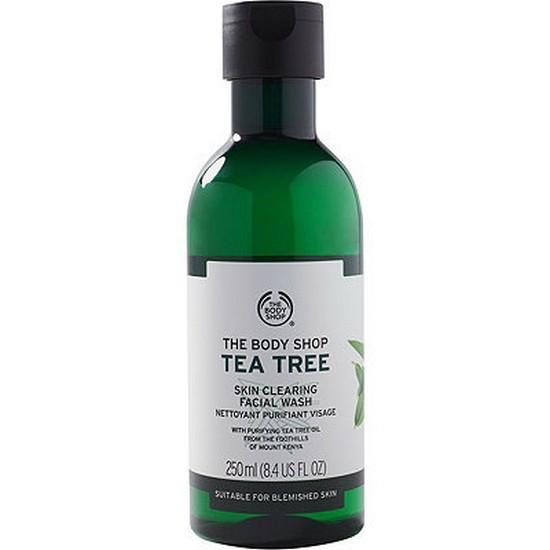 Sữa Rửa Mặt Dạng Gel Làm Sạch Sâu The Body Shop Tea Tree Skin Clearing Facial Wash