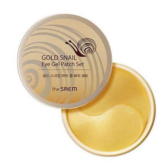 [BIG SALES] Mặt Nạ Mắt Chiết Xuất Ốc Sên The Saem Gold Snail Eye Gel Patch