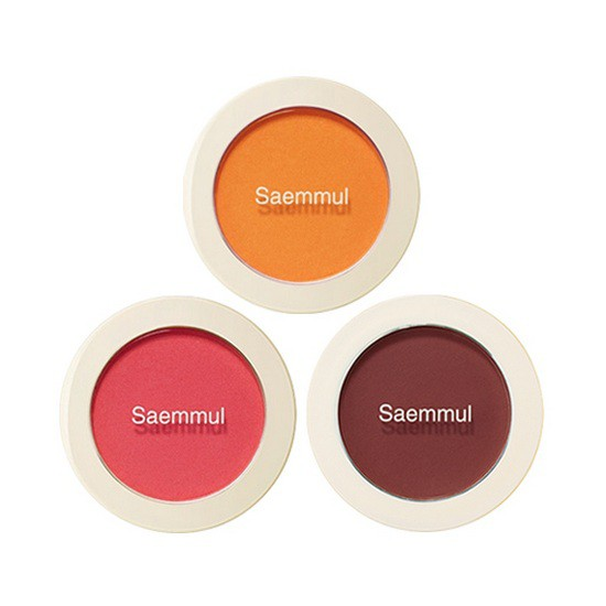 [HOT] Phấn Má Hồng Siêu Mịn The Saem Saemmul Single Blusher 5g