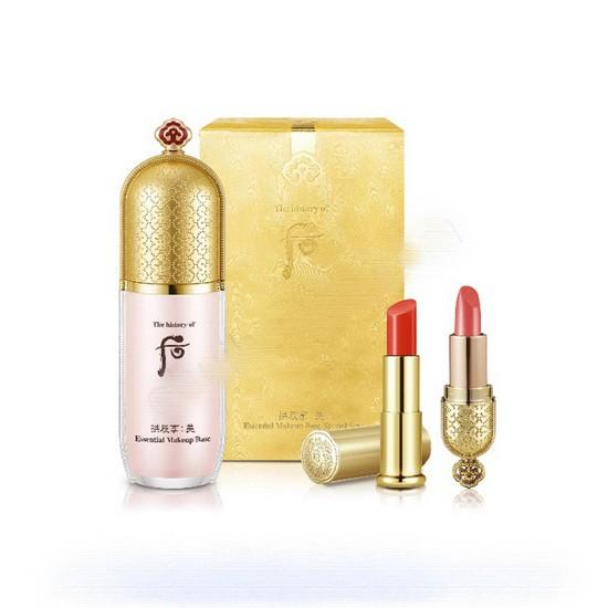 Bộ Kem Lót Dưỡng Ẩm Trang Điểm The History Of Whoo Gongjinhyang Mi Essential Makeup Base Special Set (3 sản phẩm)
