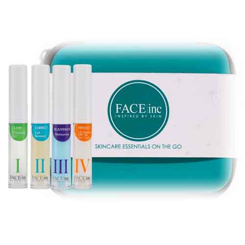 Bộ Dùng Thử Dưỡng Da Toàn Diện The Face Inc Starter Kit (4 Sản Phẩm)