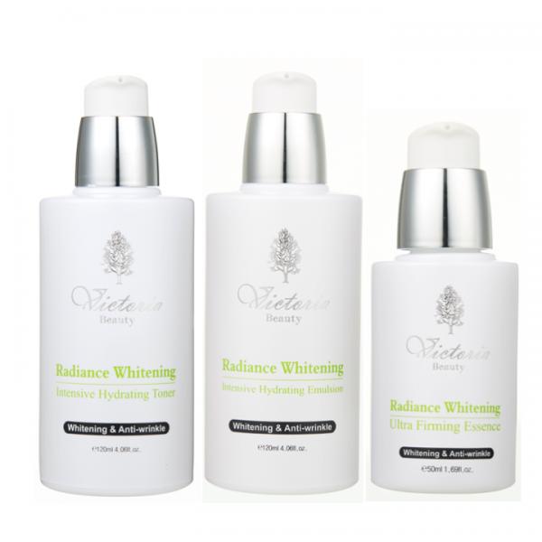 Bộ Dưỡng Trắng Và Chống Lão Hoá Cao Cấp Victoria Beauty Radiance Whitening Intensive Illuminating Set (3 Sản Phẩm)