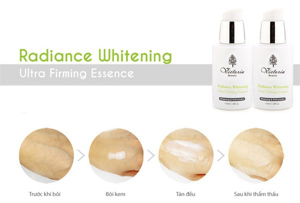 Tinh Chất Dưỡng Da Cao Cấp Victoria Beauty Radiance Whitening Intensive Illuminating Essence 50ml