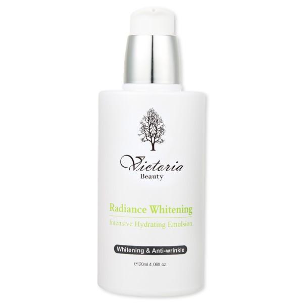 Sữa Dưỡng Dưỡng Trắng Và Chống Lão Hoá Cao Cấp Victoria Beauty Radiance Whitening Intensive Hydrating Emulsion 120ml