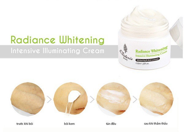 Kem Dưỡng Da Cao Cấp Victoria Beauty Radiance Whitening Intensive Illuminating Cream 50ml