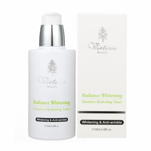 Nước Hoa Hồng Dưỡng Da Cao Cấp Victoria Beauty Radiance Whitening Intensive Illuminating Toner 120ml