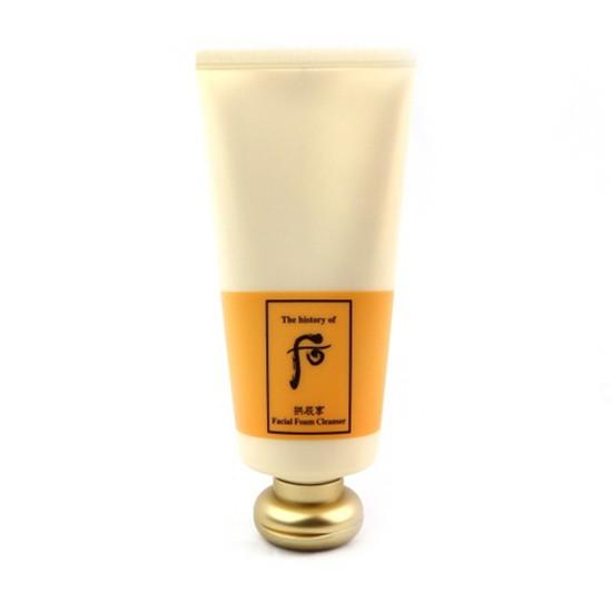 Sữa Rửa Mặt Dưỡng Ẩm Whoo Facial Foam Cleanser 180ml