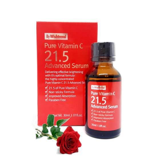 [HOT] Tinh Chất Dưỡng Trắng Da Và Làm Mờ Vết Thâm Wishtrend Pure Vitamin C 21.5 Advanced Serum