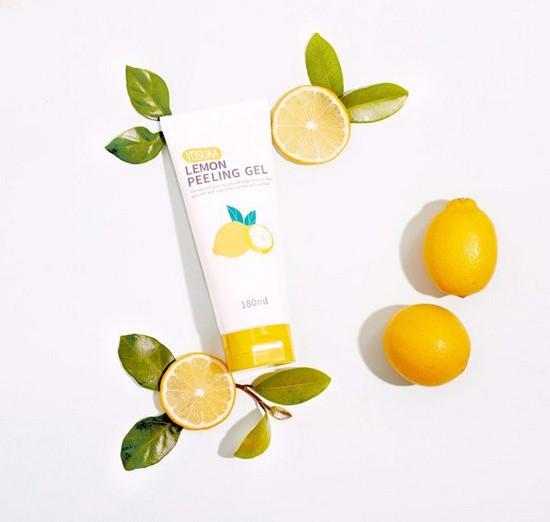 Gel Tẩy Tế Bào Chết Sáng Mịn Da Chiết Xuất Từ Chanh Yosuaa Lemon Peeling Gel 180ml