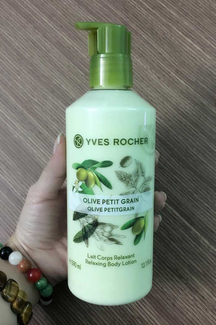 Sữa Dưỡng Thể Chiết Xuất Olive Yves Rocher Olive Petit Grain Body Lotion 390ml