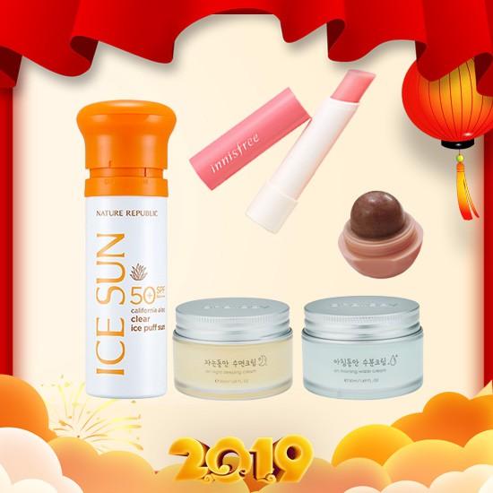 Combo Da Đẹp - Môi Xinh (5 sản phẩm)