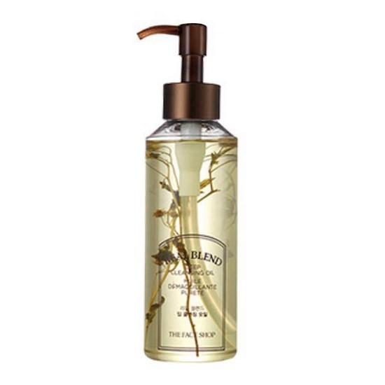 Dầu Tẩy Trang Làm Sạch Sâu The Face Shop Real Blend Deep Cleansing Oil 225ml
