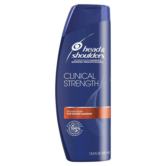 Dầu Gội Đặc Trị Gàu Head & Shoulders Clinical Strength Shampoo 400ml
