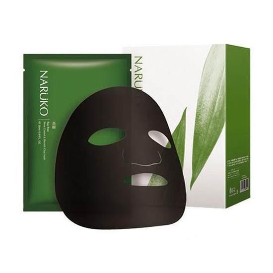 Mặt Nạ Kiểm Soát Dầu Và Mụn Chiết Xuất Tinh Chất Tràm Trà Naruko Mask Sheet Tea Tree