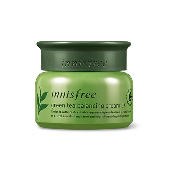 [BIG SALE] Kem Dưỡng Trà Xanh Innisfree Green Tea Balancing Cream EX 50ml