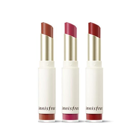 Son Lì Innisfree Mềm Mịn Môi Real Fit Velvet Lipstick (Màu Mới)