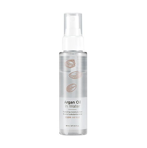 Xịt Khoáng Dưỡng Ẩm The Face Shop Argan Oil In Water Radiating Moisture Mist