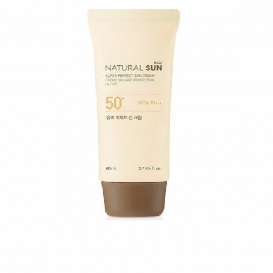 Kem Chống Nắng The Face Shop Natural Sun Eco Super Perfect Sun Cream SPF50 80ml
