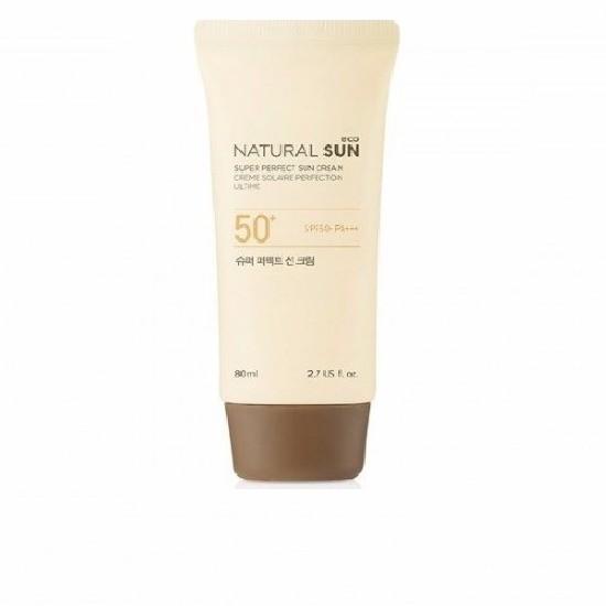 Kem Chống Nắng The Face Shop Natural Sun Eco Super Perfect Sun Cream SPF50 80ml