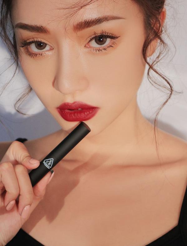 [HOT] Son Thỏi Lì Mềm Mịn 3CE Slim Velvet Lip Color 3.2g